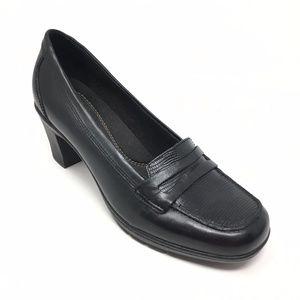 Women's Clarks Bendables Pump Heels Shoes Size 8M